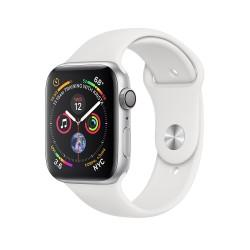 Apple Watch Series 4 44mm Silver Aluminium Case with White Sport Band (MU6A2)