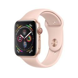 Apple Watch Series 4 44mm GPS+LTE Gold Aluminum Case with Pink Sand Sport Band (MTV02)
