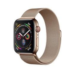 Apple Watch Series 4 44mm GPS+LTE Gold Stainless Steel Case with Gold Milanese Loop (MTV82, MTX52)