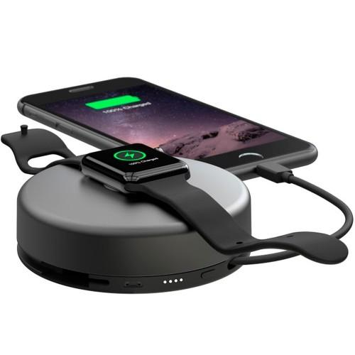 Зарядное устройство для Apple Watch Nomad Pod Pro, 6000 mAh (Black)