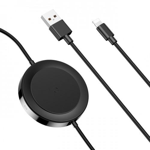 Беспроводная зарядка Baseus iP Cable Series (Black)