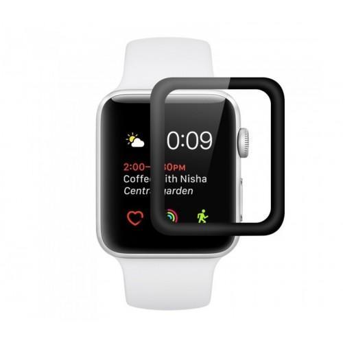 Защитное стекло 4D для Apple Watch 44mm