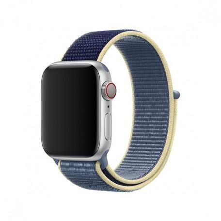 Оригинальный ремешок для Apple Watch 40mm Alaskan Blue Sport Loop