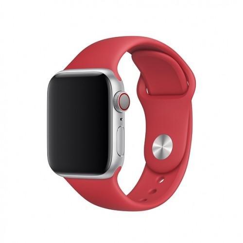 Оригинальный спортивный ремешок для Apple Watch 40mm (PRODUCT)RED Sport Band — S/M — M/L (MLD82 / MU9M2)
