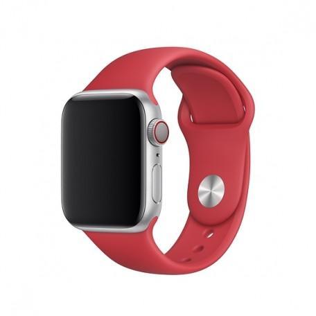 Оригинальный спортивный ремешок для Apple Watch 44mm (PRODUCT)RED Sport Band — S/M — M/L (MLDJ2 / MU9N2)