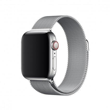 Оригинальный стальной ремешок для Apple Watch 44mm Milanese Loop