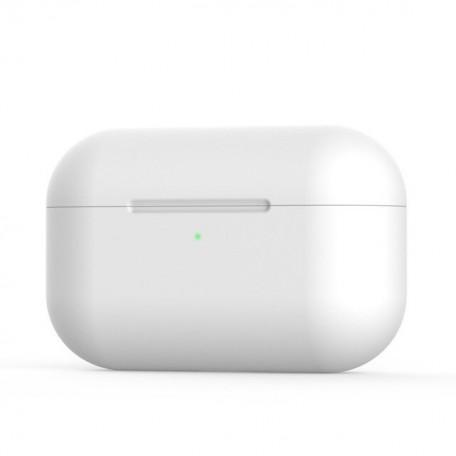 Чехол Apple AirPods Pro Silicone Case (White)