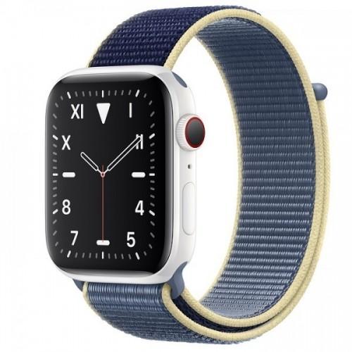 Apple Watch Series 5 Edition 44mm White Ceramic Case with Alaskan Blue Sport Loop