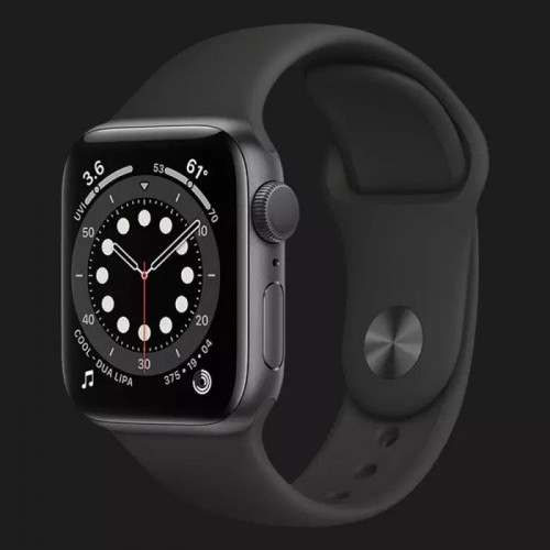б/у Apple WATCH SE 40mm Space Gray Aluminium Case with Black Sport Band (MYDP2)