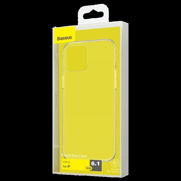 Чехол Baseus для iPhone 12/12 Pro Simple Series[Transparent]