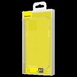 Чехол Baseus для iPhone 12 Pro Max Simple Series[Transparent]