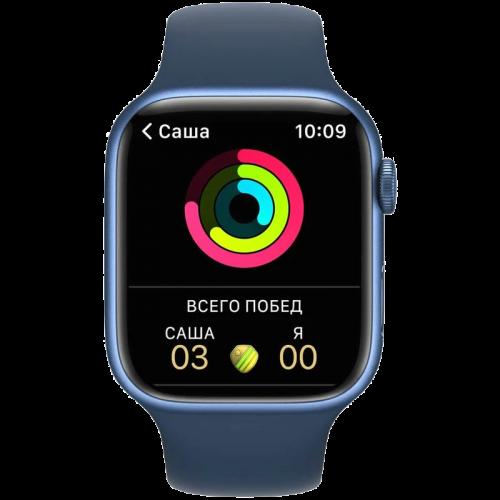 Apple Watch Series 7 41mm Blue Aluminum Case