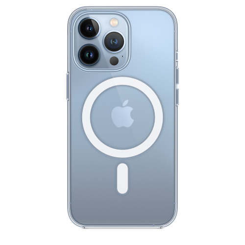 Чехол iPhone 13 Pro Clear Case with MagSafe
